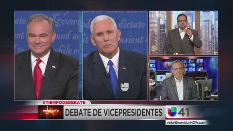 Tiempo de debate: resultados del debate entre los candidatos a la vicepr...