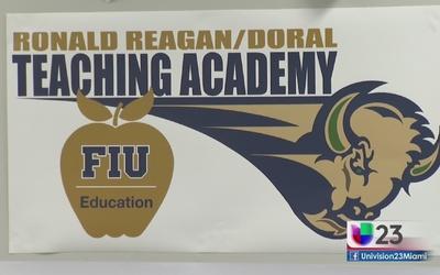FIU y escuela en Doral se unen en pro de la educación