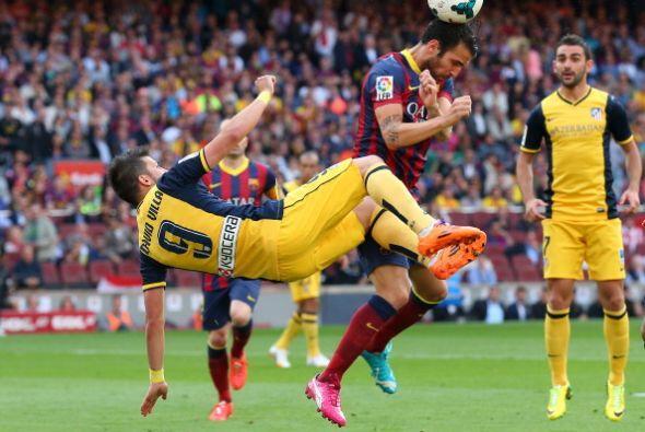 Desde el comienzo de la segunda parte el Atlético montó un cerco en el c...