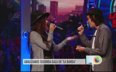 """""""Boricuas night"""" en las audiciones de La Banda"""