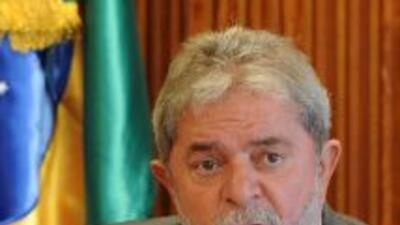 Luiz Inácio Lula da Silva, el presidente de Brasil, advirtió del riesgo...