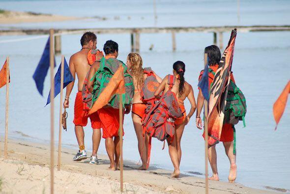 En cambio las Aguilas se dirigieron valientes hacia Playa Baja, lugar do...