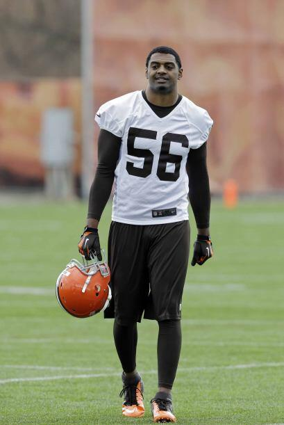 7. Karlos Dansby, linebacker Cleveland Browns (AP-NFL).