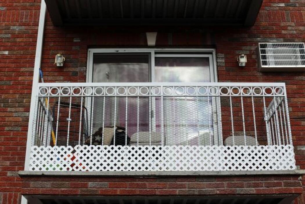 El detenido aparcó junto al edificio, situado en el sur de Manhattan, un...