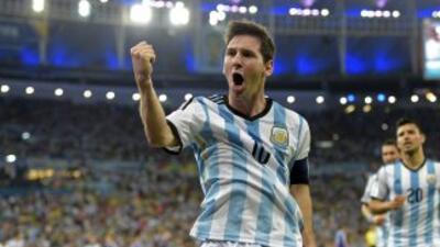 Nuevamente Messi fue factor clave para que Argentina consiguiera el triu...