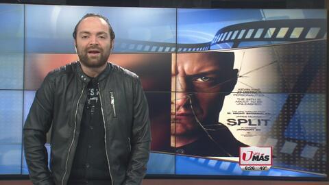 'Split' se llevó el primer lugar en taquillas de cine este fin de semana
