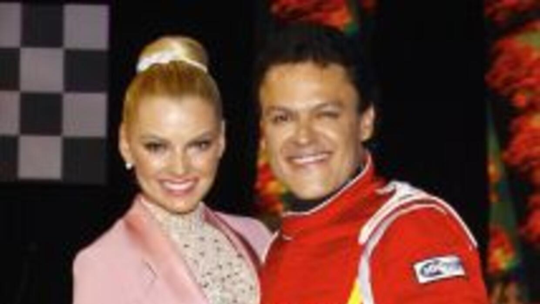 La actriz dijo que admira a Pedro Fernández.
