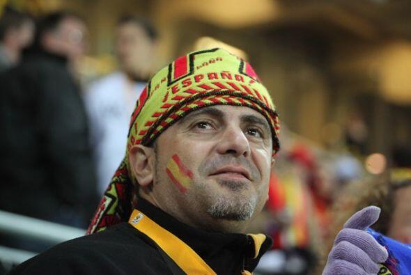 Los aficionados españoles no tuvieron motivos de celebraci&oacute...
