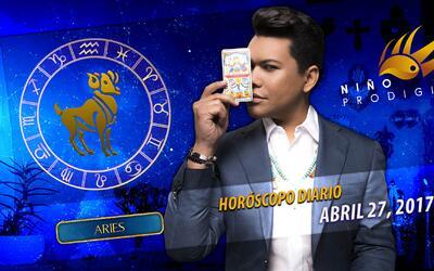 Niño Prodigio - Aries 27 de abril 2017