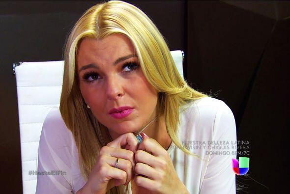 ¡Qué tristeza Sofía! Salvador no la está pasando nada bien.