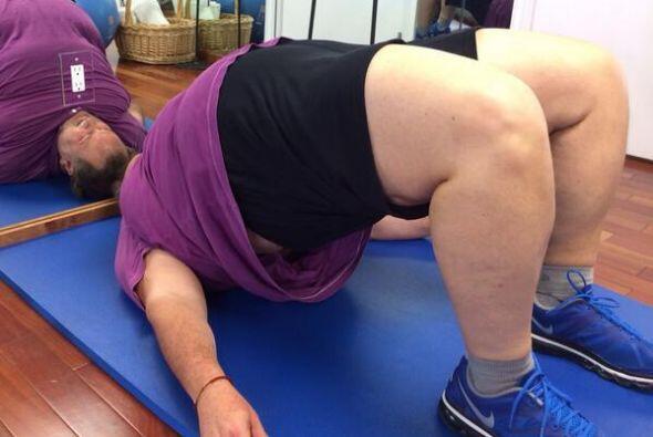 Por fin, Raúl de Molina nos dio a conocer su rutina de ejercicios, que r...