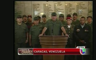 Mensaje del Ministro de las Fuerzas Armadas de Venezuela Diego Molero tr...