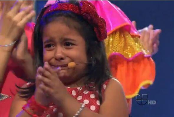 Dana Valería no pudo contener las lágrimas al saber que su equipo estaba...