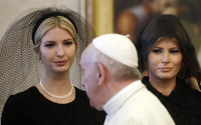 ¿Por qué Melania e Ivanka usaron velo en su visita al Vaticano y no en A...