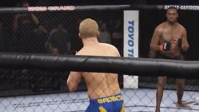 Hilarious UFC Video Game Glitch