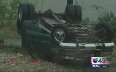 Lluvias dejan dos muertos y un desaparecido en Brenham