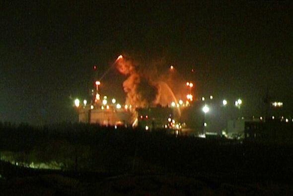 La fuente indicó que cuando ocurrió la explosión al...