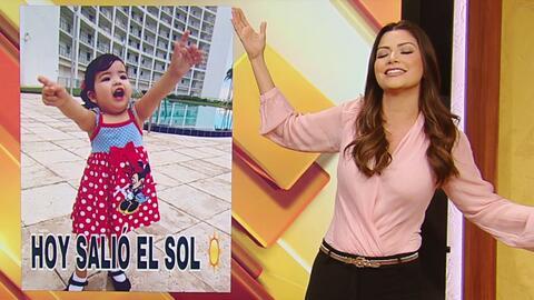 Giulietta se emociona cuando sale el sol y Ana Patricia contando chistes