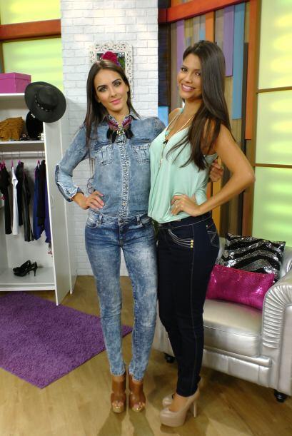 Tanto Daniela como Anita son unas expertas en moda y juntas demostraron...