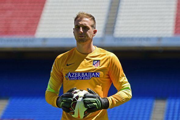 En segundo lugar tenemos al cancerbero del Atlético de Madrid, Ja...