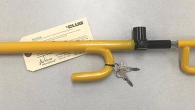 'The Club' es una herramienta de prevención de robo de autos.