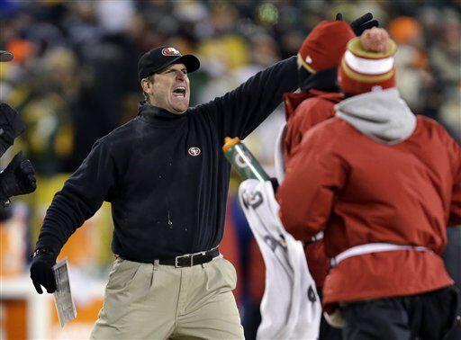 En sus dos años anteriores pasados, John Harbaugh ha llevado a los 49ers...