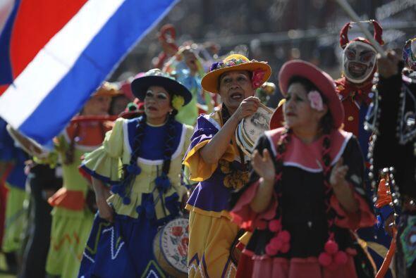 Una breve y tradicional ceremonia de inauguración en Jujuy previo al arr...