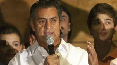 Jaime Rodríguez Calderón 'El Bronco' se proclama ganador