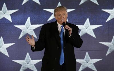 Aunque todavía no ha tomado posesión de su cargo, Trump ya tiene puesta...