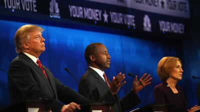 """Daniel Morcate: Los """"outsiders"""" en la contienda presidencial GettyImages..."""