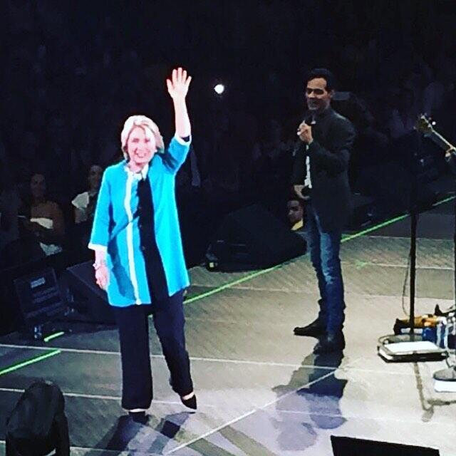 Marc y Hillary