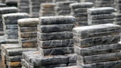 Un cargamento de cocaína, heroína y metanfetamina con valor superior a l...