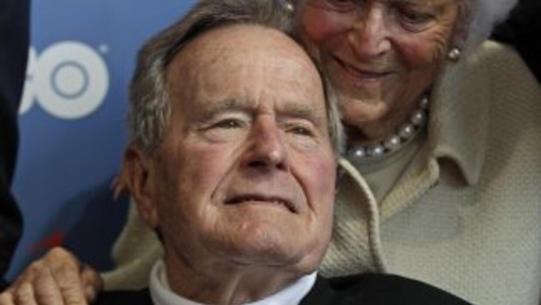 El ex presidente estadounidense George H.W. Bush.