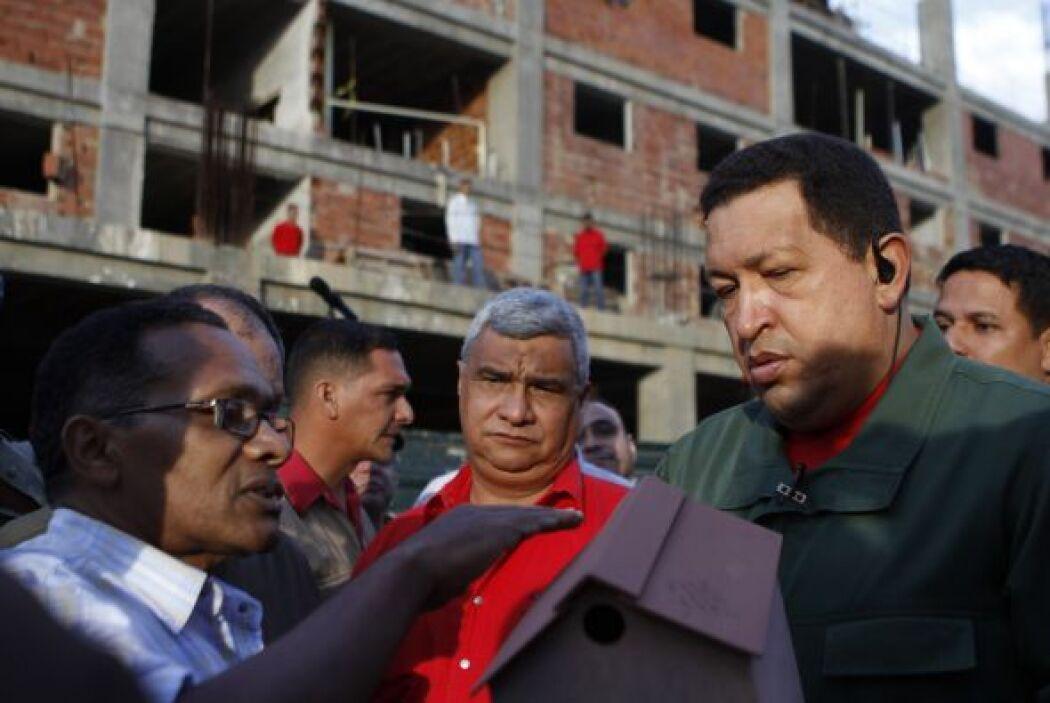 Hugo Chávez, presidente de Venezuela, ha sido criticado en los 12 años q...