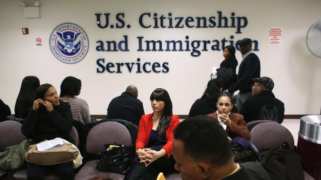 Oficina del Servicio de Naturalización e Inmigración.
