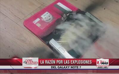 Samsung revela la razón por las explosiones del Galaxy Note