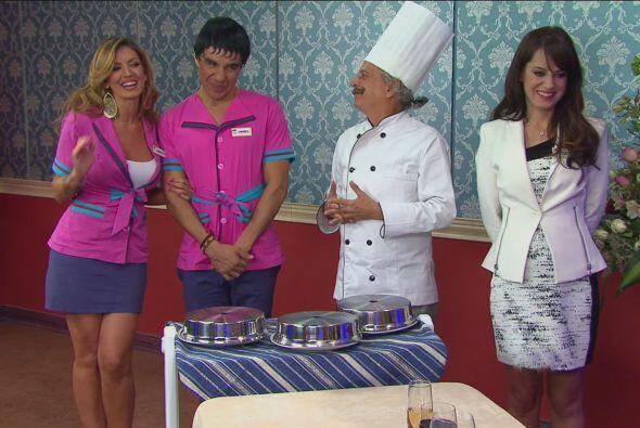 Después llegaron Chabelita y Carmelo para arreglar a Vanessa, per...