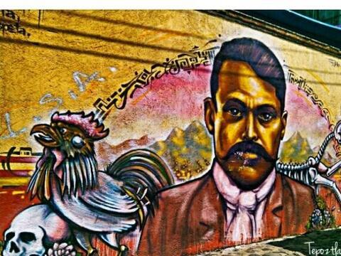 El #StreetArt se ha vuelto popular en la ciudad de México, donde artista...