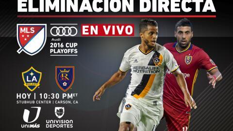 EN VIVO   Playoffs MLS   LA Galaxy vs Real Salt Lake   Eliminación Directa