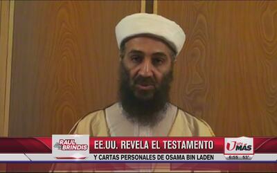 Revelan testamento de Osama Bin Laden