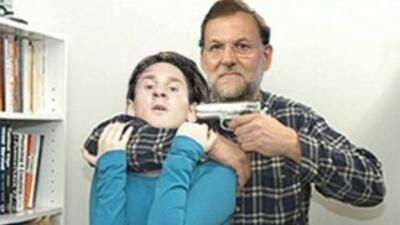 Rajoy y Messi