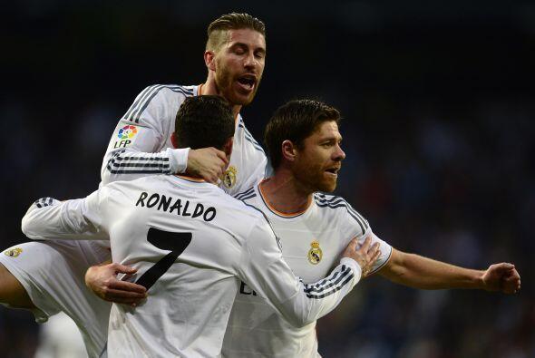 Los locales no tardaron en adelantarse con un gol de Cristiano Ronaldo.