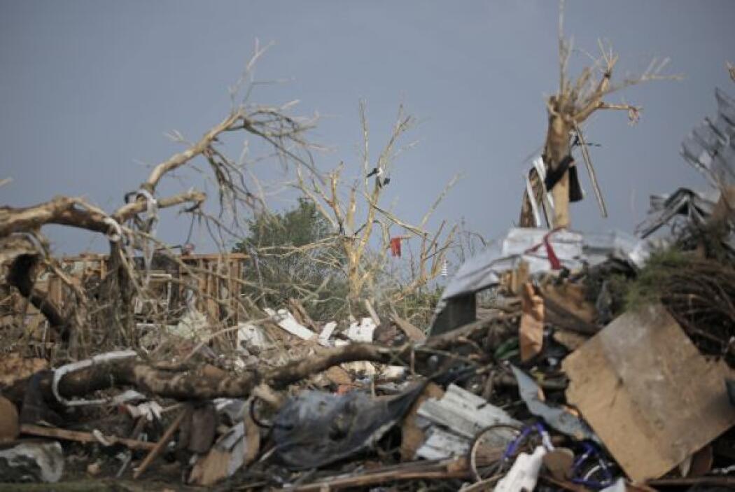 Se da la circunstancia de que en 1999 otro tornado afectó a Moore, destr...