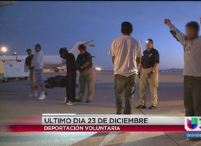 Solicitud de deportación voluntaria