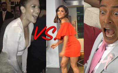 Francisca imitó el bailecito sexy de JLo y dejó boquiabiertos a sus comp...