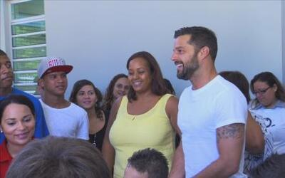 Maity on the Road: Ricky Martin se tomó la selfie