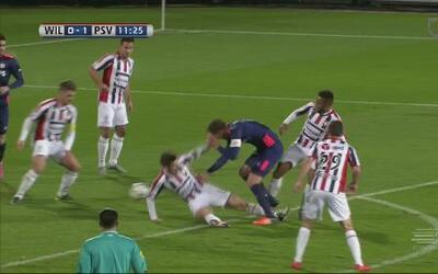 EL PSV Eindhoven tropieza con empate ante Willem
