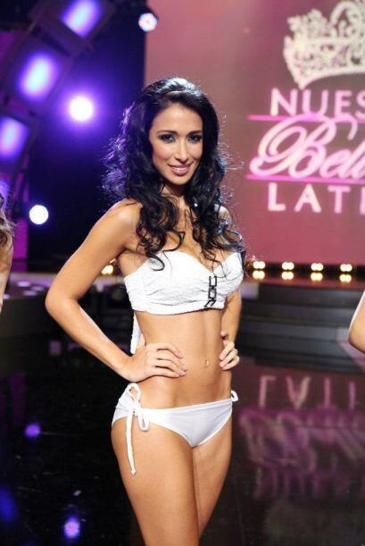 Esta colombiana no solo impresionó con sus curvas sino con su tal...