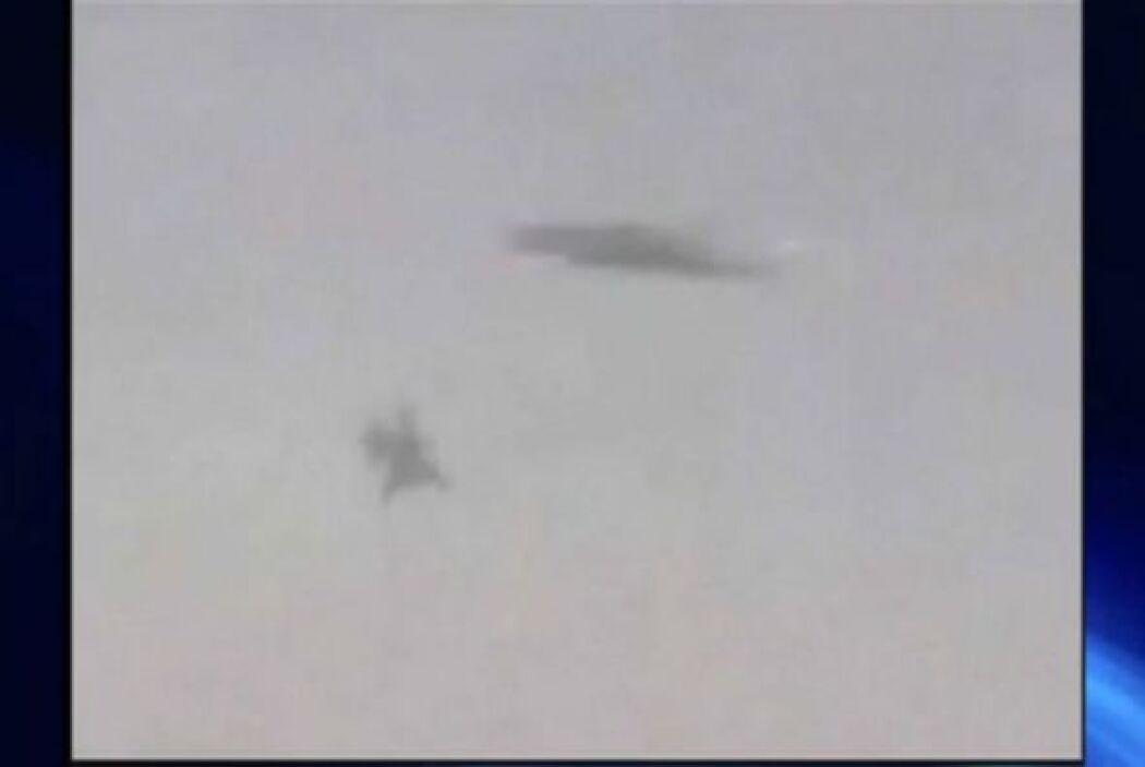 En ocasiones los pilotos comentan haber visto naves extraterrestres sobr...