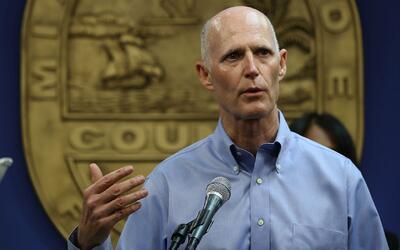 Gobernador de Florida anunció que pedirá restringir fondos a puertos que...